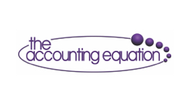 The Accounting Equation logo using outsourced payroll services